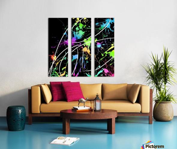 Gardenia Split Canvas print