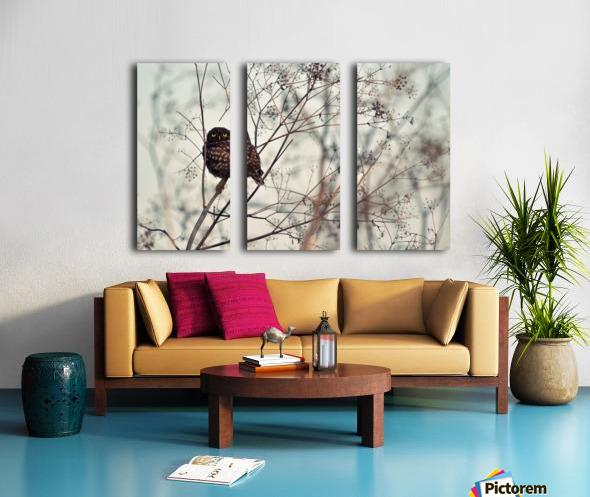 Look at Me Split Canvas print