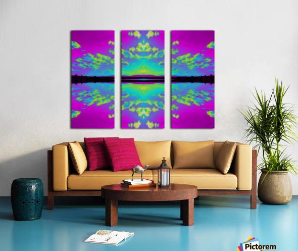 Portal  26  Split Canvas print
