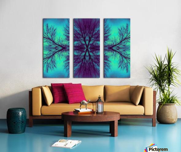 Portal  4  Split Canvas print