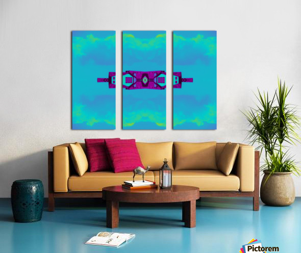Portal  97  Split Canvas print