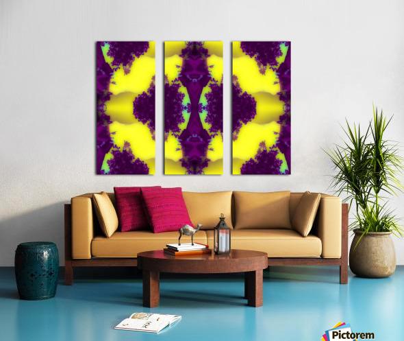 Portal  25  Split Canvas print