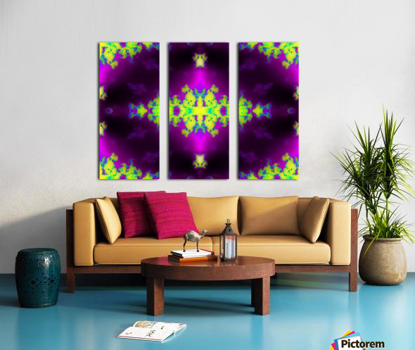 Portal  63  Split Canvas print