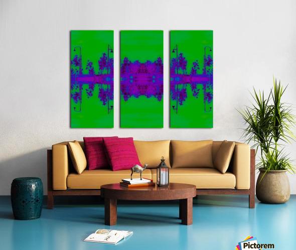 Portal  96  Split Canvas print