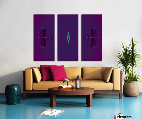 Portal  80  Split Canvas print
