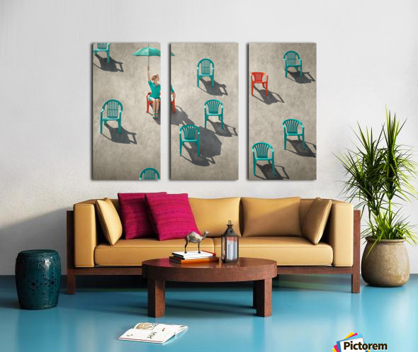 Mismatch Split Canvas print
