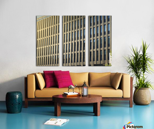 buildings windows  Split Canvas print