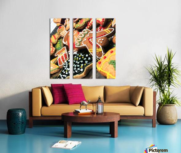 Cookies Split Canvas print