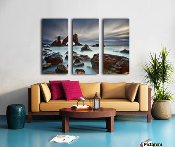 Sea Arch at Crohy Head by Derek Smyth  Split Canvas print