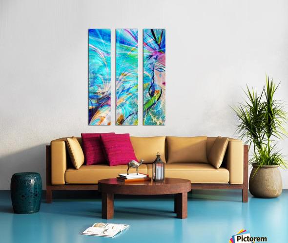 Madeleine Split Canvas print