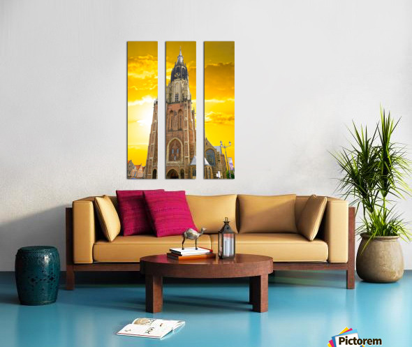 A Dream of the Netherlands 4 of 4 Split Canvas print