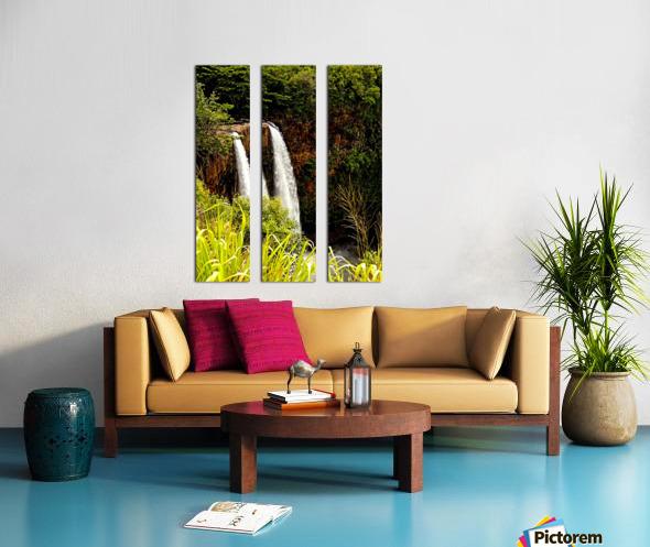 Kauai Waterfalls Split Canvas print