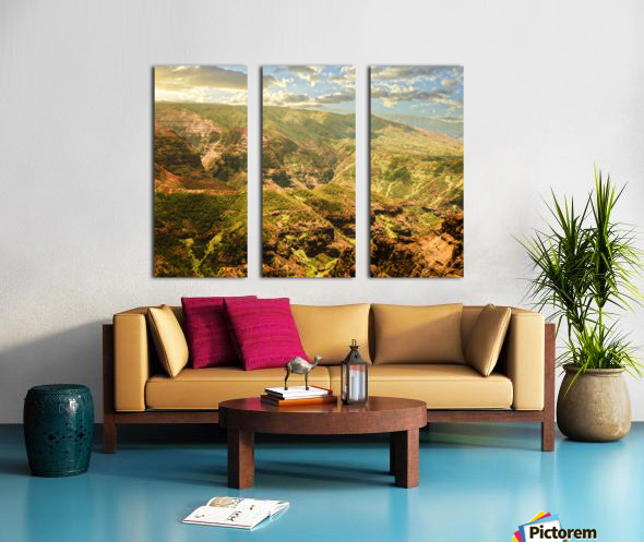 Untamed Kauai 2 of 5 Split Canvas print