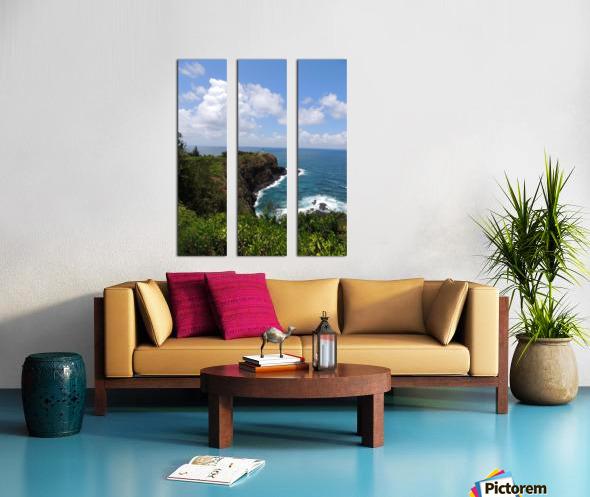 Kauai Lighthouse Split Canvas print