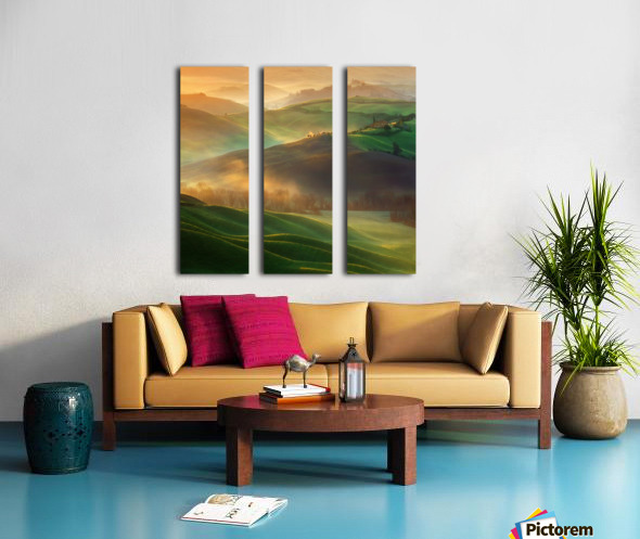 Morning Dreams Split Canvas print
