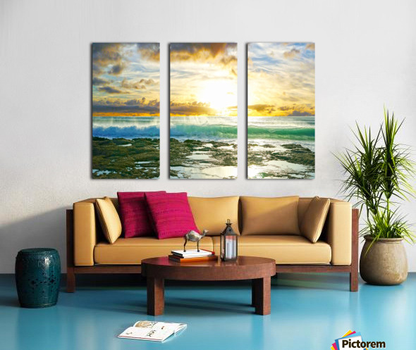 Changing of the Tides Split Canvas print