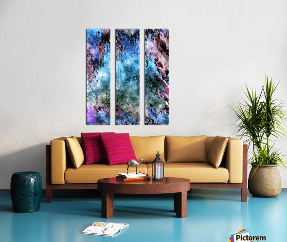 Icecapades Split Canvas print