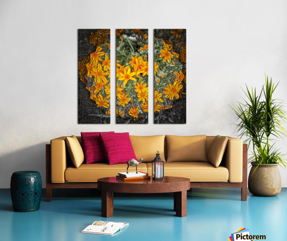 Textures Split Canvas print