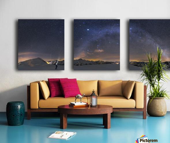 Under the Starbow by Dr. Nicholas Roemmelt Split Canvas print