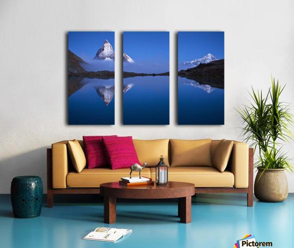 Night Mirror Split Canvas print