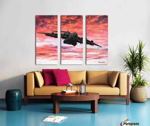 Soaring in the sky Split Canvas print