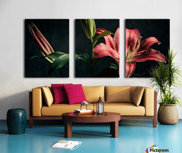 Floraison 1 Split Canvas print