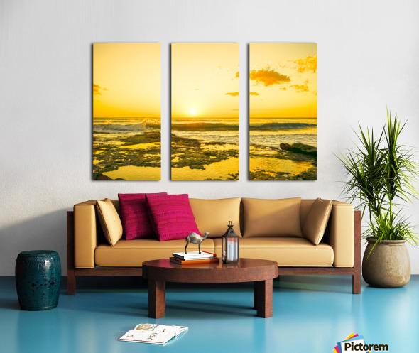 Golden Moment Split Canvas print