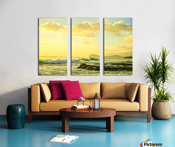 Perfect Day Split Canvas print