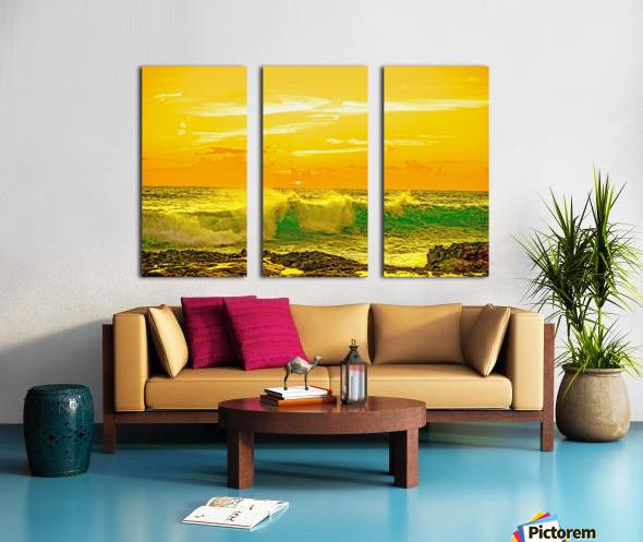 At the Sea Shore Split Canvas print