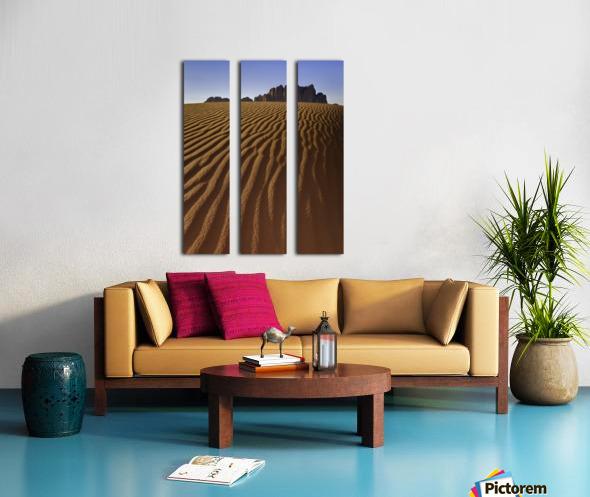Rise Above Split Canvas print