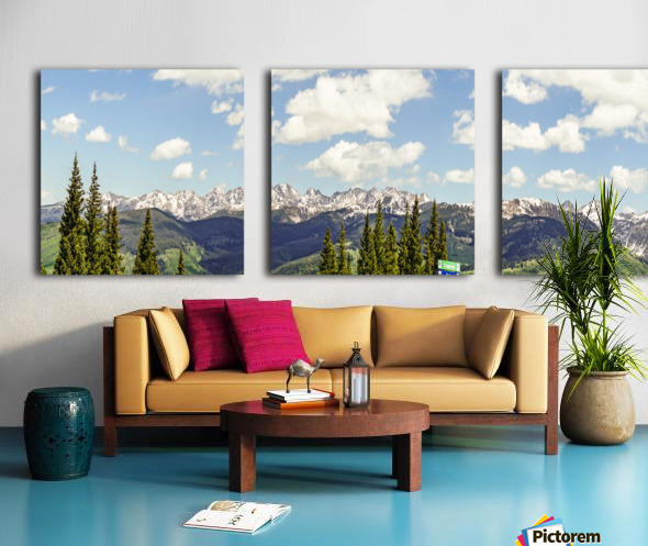 Wild Colorado  Split Canvas print