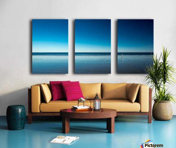 The Blues Split Canvas print