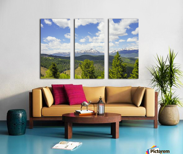 Back Country Colorado 1 of 8 Split Canvas print