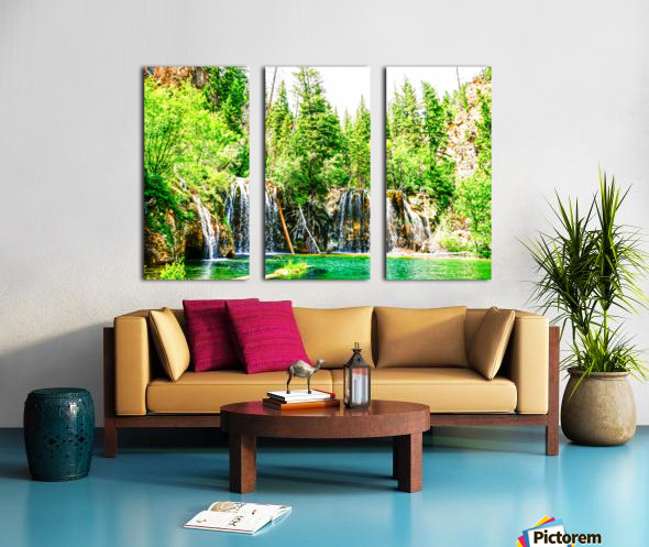 Waterfall Country Colorado 3 of 4 Split Canvas print