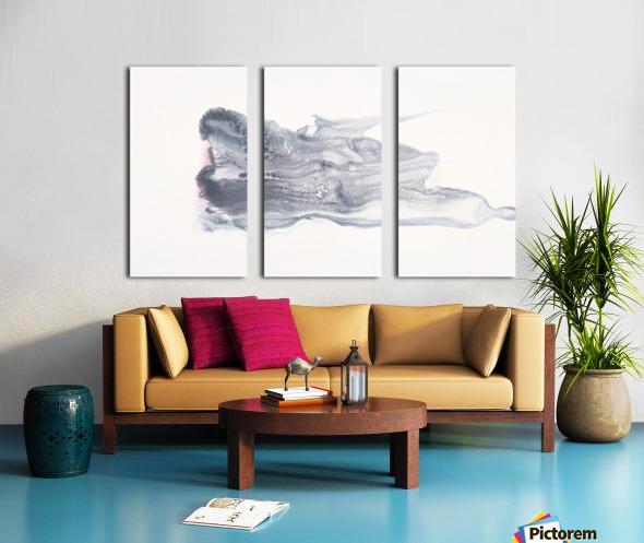 She Effervesces Split Canvas print