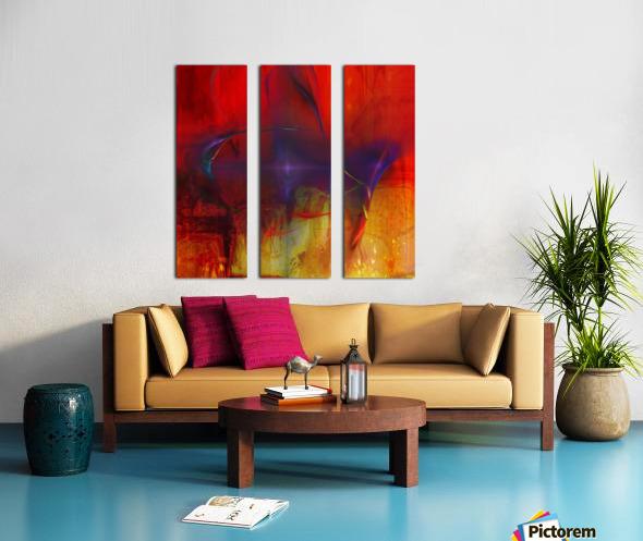 Akina Split Canvas print