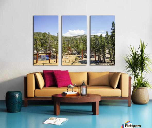 Spring at Lake Tahoe 4 of 7 Split Canvas print