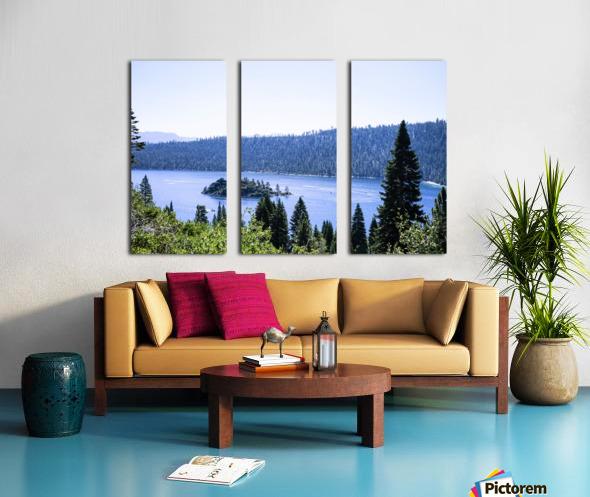 Secret View Split Canvas print