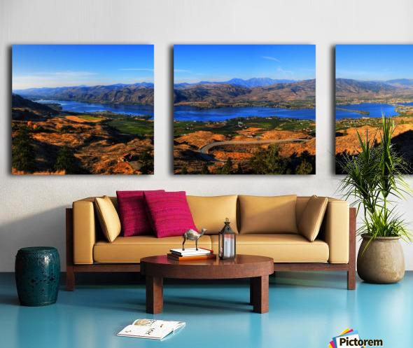 Osoyoos Panorama Split Canvas print