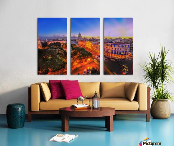 Havana Cuba Split Canvas print