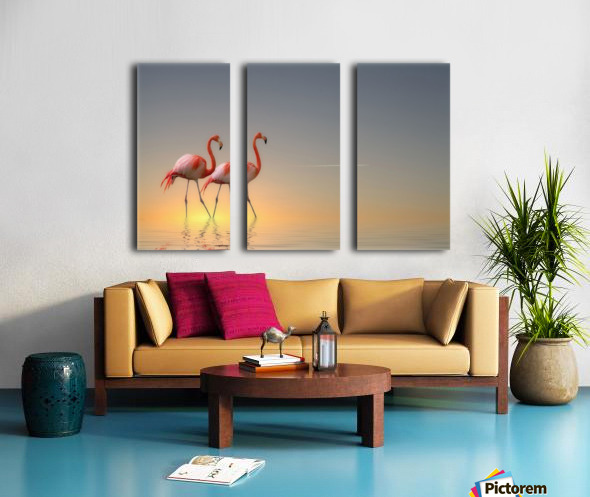 Serenity II Split Canvas print