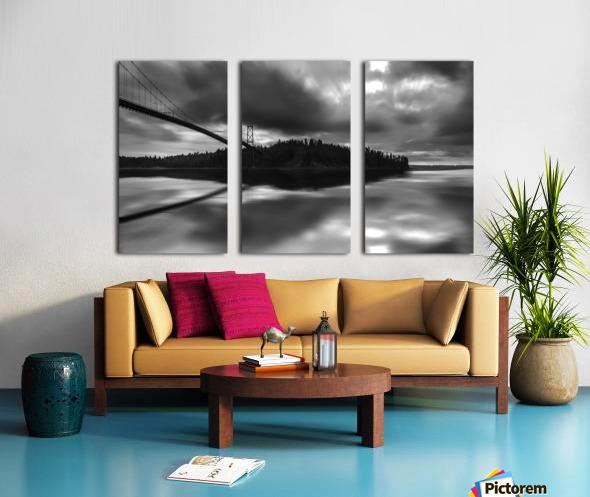 wesley allen shaw 1 Split Canvas print
