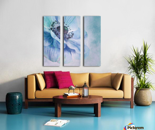 Shades of Blue by Priska Wettstein  Split Canvas print
