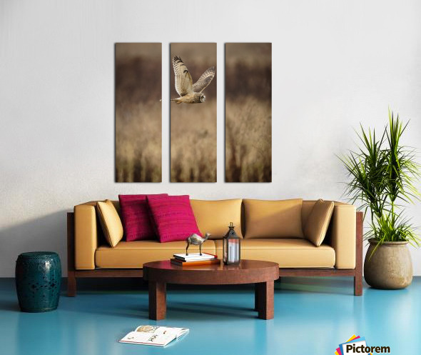 Wesley Allen Shaw 02133 Split Canvas print
