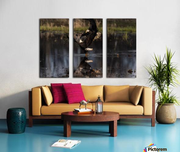 Wesley Allen Shaw 09085 Split Canvas print