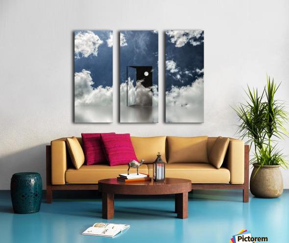 Event Horizon Split Canvas print