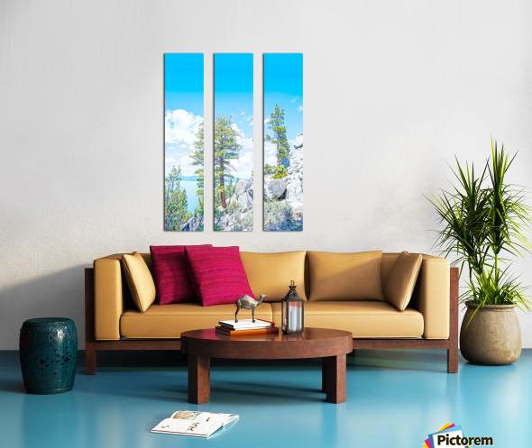 Top of the Mountain Split Canvas print