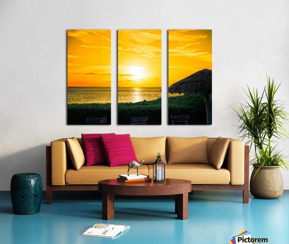 Away Split Canvas print