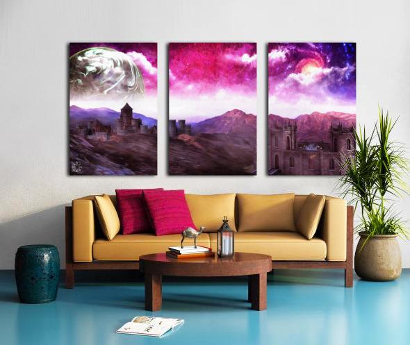 Serenity Vale Split Canvas print