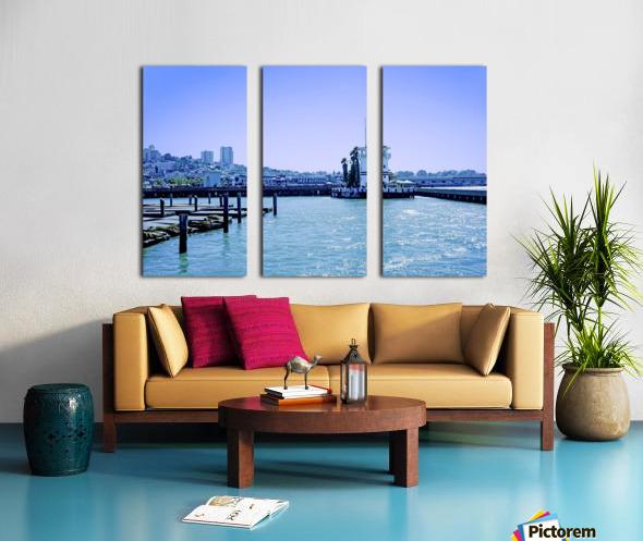 San Francisco Bay Split Canvas print